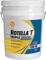 Rotella® T Triple Protection 15W-40 Heavy Duty Diesel Engine Oil