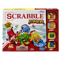 Jeu Scrabble Junior de Hasbro Version anglaise