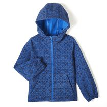 Athletic Works Boys' Bonded Fleece Jacket Blue 6