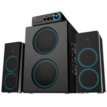 Arion Legacy Deep Sonar 750 Computer Speakers with Dual Subwoofers (ARDS750-BK) Black - English