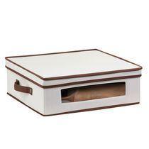 Honey-Can-Do Large Canvas Window Storage Box