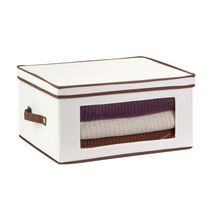 Honey-Can-Do Large Canvas Window Storage Chest