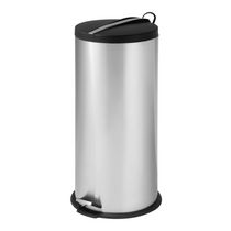 Honey-Can-Do 30 L Round Step Can with Bucket