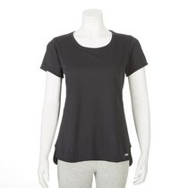 T-shirt performance Athletic Works pour femmes Noir XL/TG