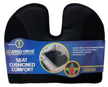 Who-Rae Ergodrive Wedge Cushion Comfort - black