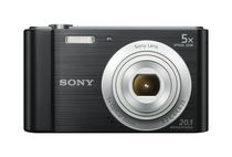Sony DSCW800BSM Point and Shoot Digital Still Camera - Black