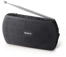 SONY Portable AM/FM Radio - SRF18