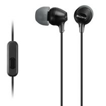 Sony Fashion Color EX Earbud Headphones with Microphone Black