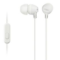 Sony Fashion Color EX Earbud Headphones with Microphone White