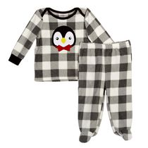 George baby Boys' 2-Piece Micro Polar Pyjama Set 18-24 months