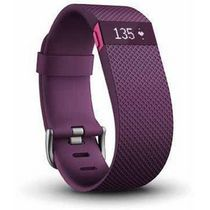 Fitbit Charge HR Wireless Activity Tracker Plum Large