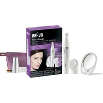 Braun Face 830 Premium edition Facial epilator & facial cleansing brush