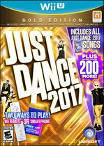 Just Dance 2017: Gold Edition (Wii U)