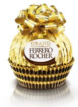 Ferrero Grand Rocher Xmas Milk Chocolate and Hazelnut