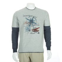 George Men's Long Sleeved Graphic Fooler Jersey Tee M/M