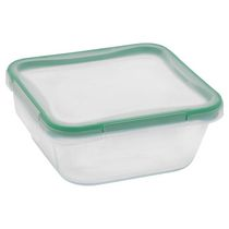Snapware ®  950Ml Square Glass Food Stoarge With Plastic Lid
