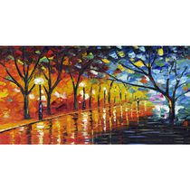 Design Art- Stroll Through Beauty- Landscape- 1 Panel - 32 x 16