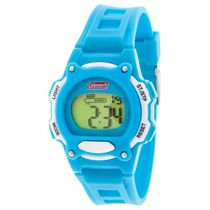 Coleman Blue with White Accents Digital Watch