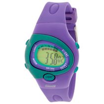 Coleman Purple with Green Accents Digital Watch
