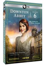 Downton Abbey S6 DVD
