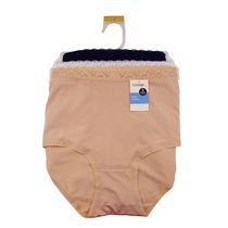 George Ladies' Soft Microfiber Brief - Pack of 3 Large