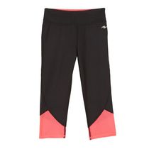 Athletic Works Girls' Performance Capri Black S/P