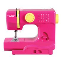 Janome Portable Sewing Machine Dark Pink