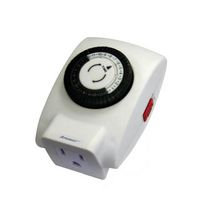 Atron Electro Industries Heavy Duty Indoor 24 hour Mechanical Timer