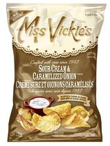 Miss Vickie's Sour Cream & Caramelized Onion Potato Chips