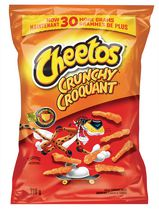 Cheetos Crunchy Cheese Flavoured Snacks
