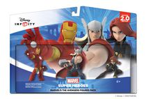 Ensemble de figurines The Avengers de Marvel Édition 3.0 de Disney Infinity