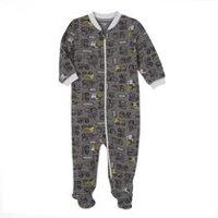 Gerber Childrens Wear Zip Front Sleep N Play Wear Set
