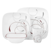 Corelle ® Square™ 16 Piece Splendor Dinnerware Set