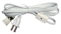 Atron Electro Industries 6 Inch Lamp cord with Switch and Candelabra Socket