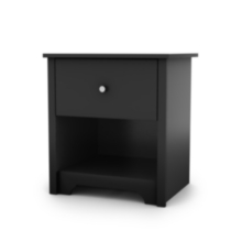 Table de chevet collection Vito de Meubles South Shore Noir