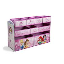 Disney Princess  Deluxe Multi-Bin Toy Organizer