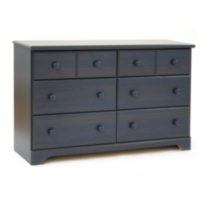 South Shore Summer Breeze 6-Drawer Double Dresser Blue