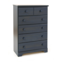 South Shore Summer Breeze 5-Drawer Chest Blue