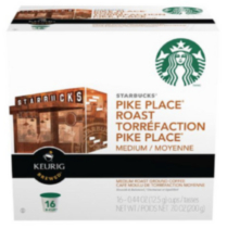 Starbucks K-Cups Pike Place Roast Coffee