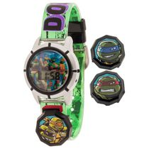 Kids Teenage Mutant Ninja Turtles LCD watch