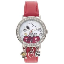 Peanuts Adult Snoopy Watch with Charms