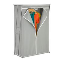 "Honey-Can-Do 46"" z-Frame Wardrobe & Storage Closet"