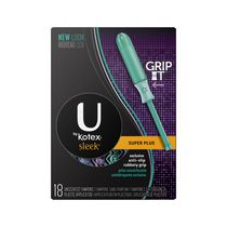 U By Kotex® Sleek Tampons Super Plus 18 units