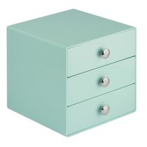 Mainstays 3-Drawer Storage Organizer Mint