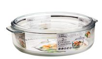 Libbey Glass 3.2 Qt Casserole with Glass Lid
