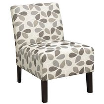 WHI Beige Fabric Accent Chair