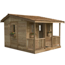 OLT 7' x 9' Cozy Cabin Cedar Playhouse