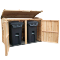 6x3 Oscar Waste Management Shed