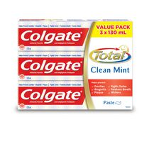 Colgate Total Clean Mint Toothpaste Value Pack