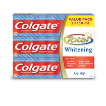 Colgate Total Whitening Toothpaste Value Pack